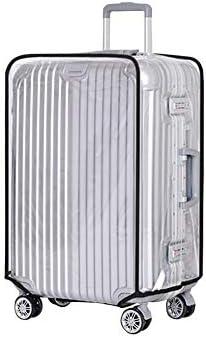[スポンサー プロダクト]スーツケースカバー 透明 防水 PVC素材 ビニール 頑丈 雨傷汚れ切り 傷つけない 出張旅行海外荷物箱用 ラゲッジカバー キャリーバッグ保護 七つサイズ