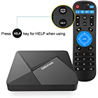 ESHOWEE Android 6.0 TV Box D5 Rockchip RK3229 Quad-core 2GB RAM 16GB ROM 4K H.265 Mini PC Internet with WIFI HDMI 2.0 LAN Player