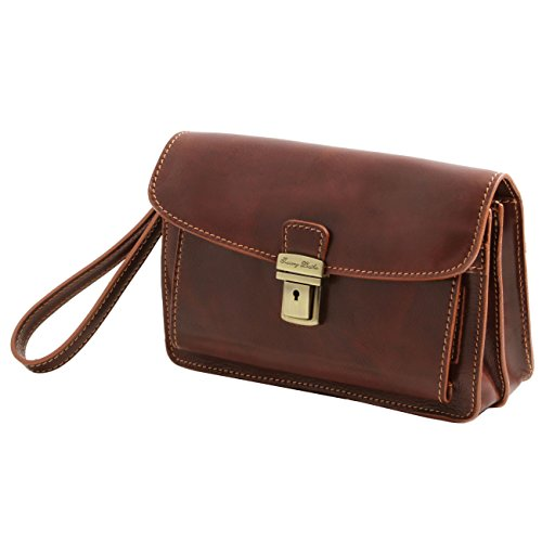 Brown Pocket Max Leather Tuscany Leather Black Dark 5qwUXdXg