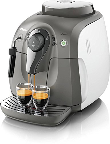 Automatic Circut Cleaning Programmable Espresso Length 100% Ceramic Grinder 33.8 fl. oz. Water Tank Capacity Saeco X-Small Fully Automatic Espresso Machine