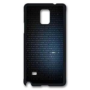 Samsung Galaxy Note 4 Case, iCustomonline Figure Designed Case for Samsung Galaxy Note 4 Hard Black