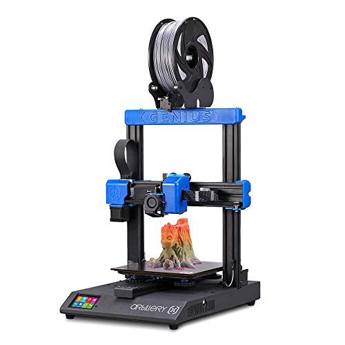 3D Printer, TAPCET 3D Printer Kit with Ultra-Quiet Stepper Motor TFT Touch Screen Support Filament Runout Detection&Power Failure Function