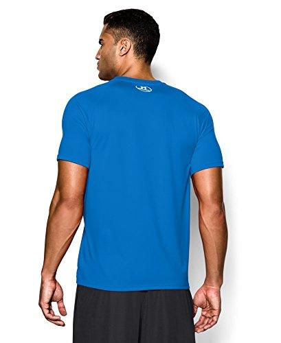 Under Armour Men's UA Core Wordmark T-Shirt Extra Large BLUE JET