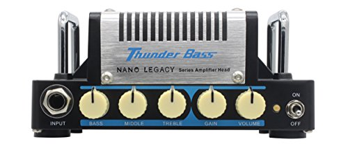 Hotone Thunder Bass Mini Bass Guitar Amplifier Head, 5 Watt