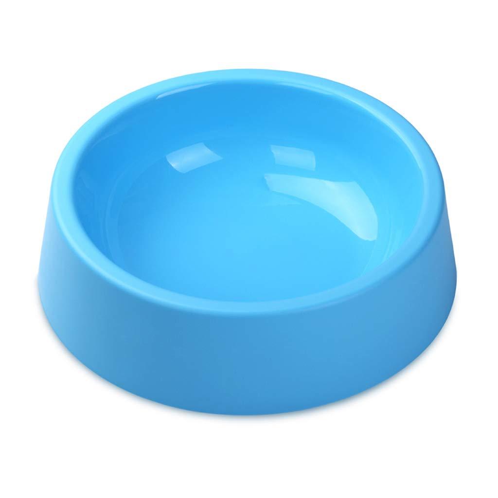 bluee Oversized Dog Bowl Large Dog Pot Cat Rice Bowl Basin Pet Supplies (color   bluee)