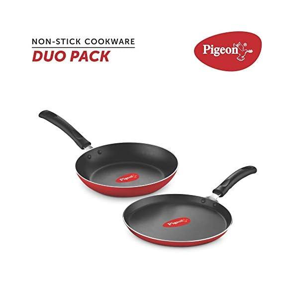 Pigeon-Nonstick-Duo-Pack-Flat-Tawa-250-and-Fry-Pan-200-Gift-Set