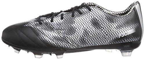 De Met Black Pour Noir Silver Leather Adidas F30 Chaussures Homme silver core Fg Met Football x4ZIR6