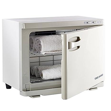 Calentador de toallas esterilizador con UV, para estética: Amazon.es: Hogar