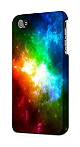 E2312 Colorful Rainbow Space Galaxy Funda Carcasa Case para IPHONE 5 5S