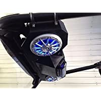 SD 4BBT2RGB -Polaris RZR Stereo System Bluetooth UTV Side by Side (2-6.5 marine speakers)