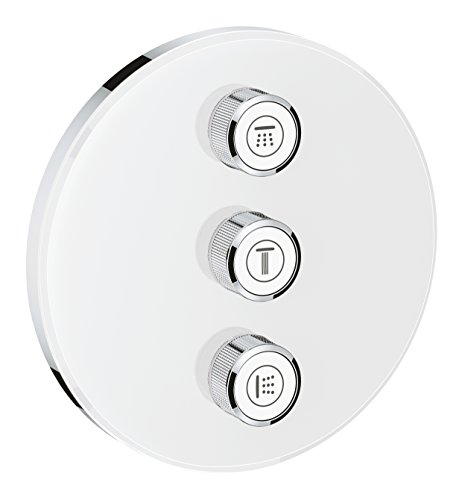 GROHE 29152LS0 29152 Glass Round Smartcontrol 3 Diverter by GROHE