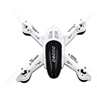 Chinatera RC Quadcopter L6056 2.4G 4CH 6-Axis Headless Mode 2MP Camera RC Quadcopter Toys for Christmas Gift(White)
