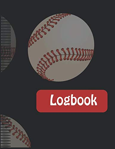 Logbook: Softball Baseball Coaching Notebook with Match Scoring Sheets | Log Book &  Pregame Planner and Post Match Analyses