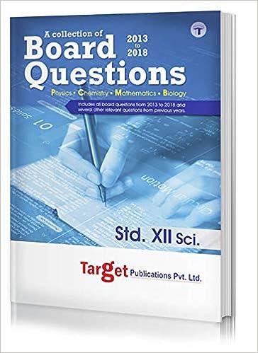 Std 12th Science Board Questions (Maharashtra Board): Amazon