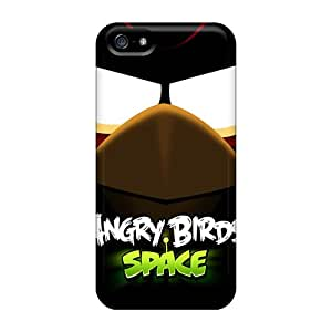 Hot Tpye Angry Birds Space 11826 Case Cover For Iphone 5/5s
