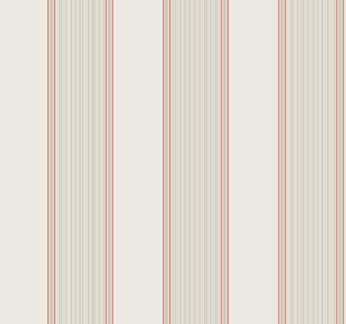 (Décor Direct YWGS6217 Somerset Strié Stripe Removable Wallpaper, x 27 ft. = 60.75 sq.ft, Whites)