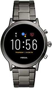 Fossil Gen 5 Carlyle Stainless Steel Touchscreen Smartwatch with Speaker, Heart Rate, GPS, NFC, and Smartphone