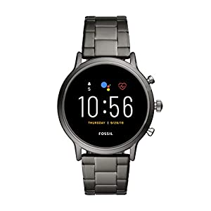 Fossil Gen 5 Carlyle Stainless Steel Touchscreen Smartwatch with Speaker, Heart Rate, GPS, Contactless Payments, and… 4