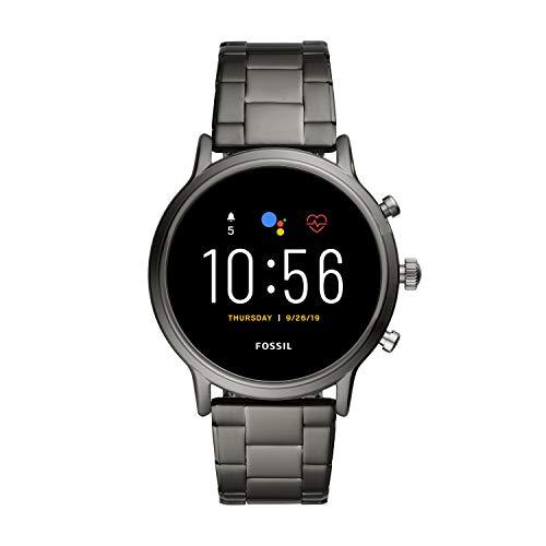417IdVfVLcL. SS500 Los smartwatches que funcionan con la tecnología WearOS by Google funcionan con teléfonos iPhoneⓇ¹ y Android Funciona varios días con una única carga en modo de batería ampliada. Seguimiento de actividad y frecuencia cardíaca, GPS incorporado para seguimiento de distancias, diseño apto para nadar