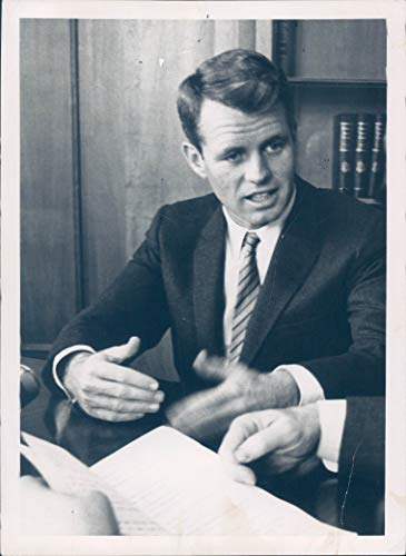 1962 Vintage Picture - Vintage Photos 1962 Press Photo Politics Robert Kennedy Bobby Lawyer US Attorney General 5x7