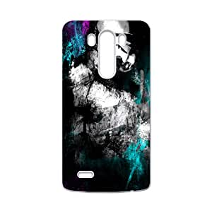 Black mysterious man Cell Phone Case for LG G3