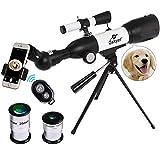 Gskyer AZ350X50 Refractor Travel Telescope with German Technology