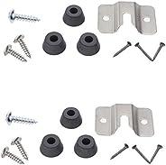 ECSEM Clear Acrylic Dart Holder/Dartboard Mounting Bracket/Dart Holder Display Stand with Darts Accessories Ki