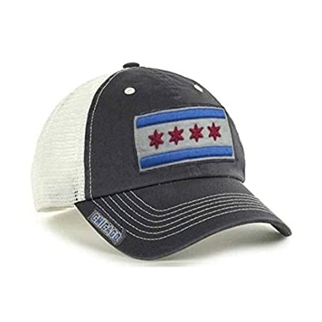 358b859a30a Amazon.com   City of Chicago Vintage Mesh Adjustable Flag Hat by ...