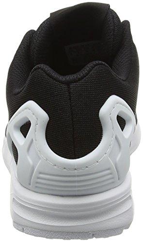Scarpe Da Ginnastica Adidas Originali Zx Flux Em Uomini Nero S76499 Nero / Bianco