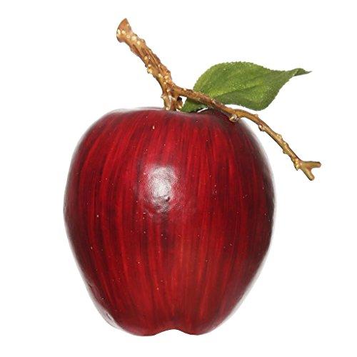 Vickerman 461150 - 5'' Red Styrofoam Apple (6 pack) (Pk/6 ) by Vickerman