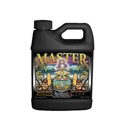 Humboldt Nutrients HNMB404 16-Ounce Humboldt Master Amino Bloom B Nutrients ()
