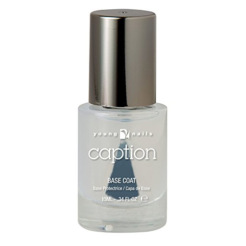 Young Nails Caption Base Coat, 0.34 Fluid Ounce by Young Nails Inc