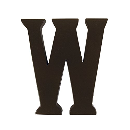 Trend Lab Brown 6  Tall Letter  Letter W