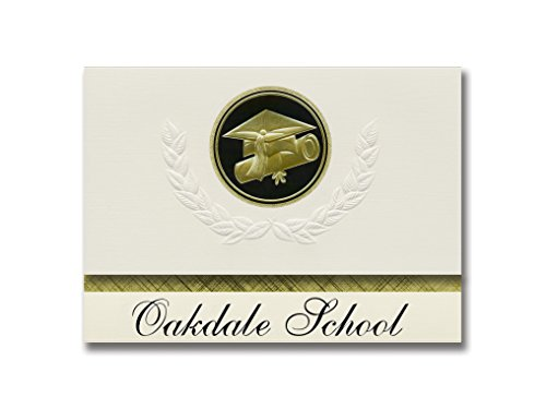 Signature Announcements Oakdale School (Oakdale, TN) for sale  Delivered anywhere in USA
