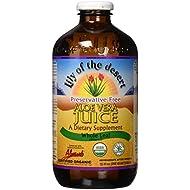 Lily Of The Desert PF Whole Leaf Aloe Vera Juice, 32 Fluid Ounce