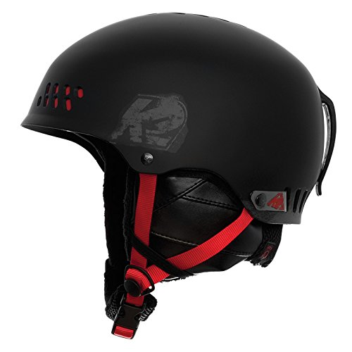 K2 Skis Helm PHASE PRO, black red, L/XL, 1034004.1.3
