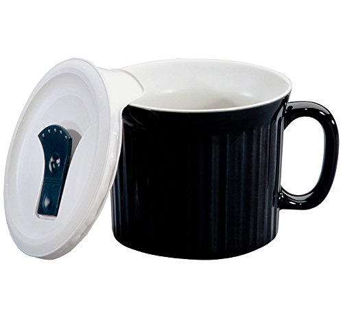 22OZ BLK Pop Ins Mug (Pack of 4) (Ins Oz Mug 22 Pop)