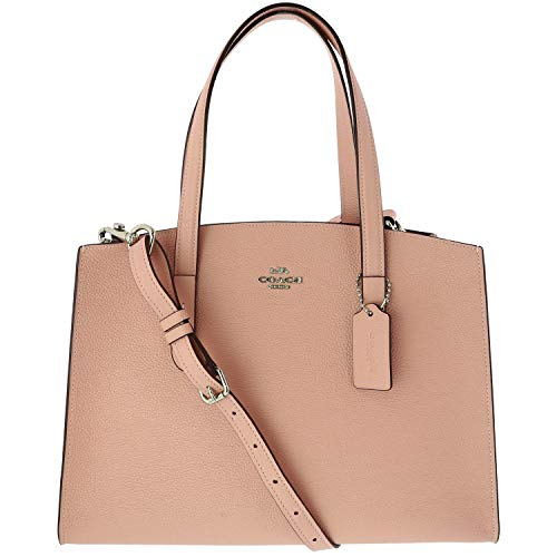 Womens Polished Leather Charlie Carryall product image