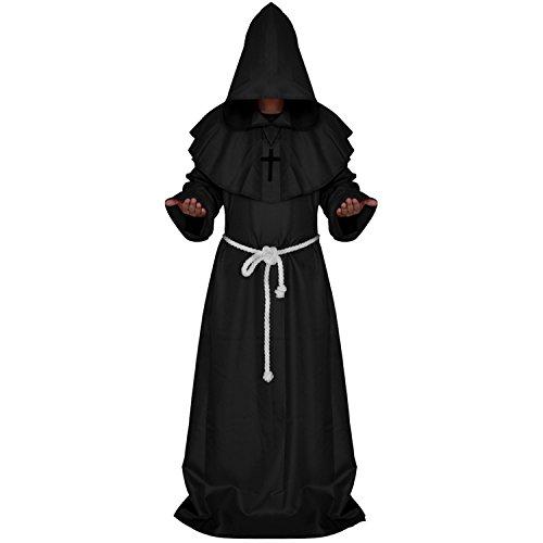 WESTLINK Mens Monk Costume The Medieval Priest