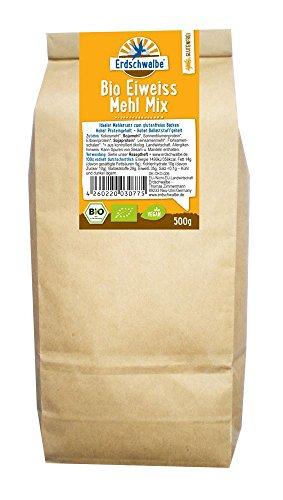 Erdschwalbe Bio Eiweiss Mehl Mix Glutenfrei, 1er Pack (1 x 500 g)