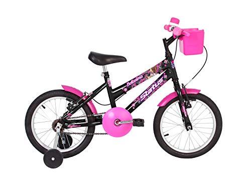 Bicicleta Infantil aro 16 Status Belíssima (preto)