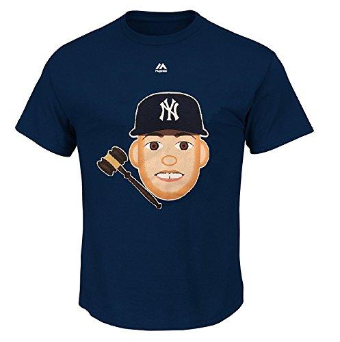 Aaron Judge New York Yankees #99 MLB Kids Sizes 4-7 Emoji Player T-Shirt