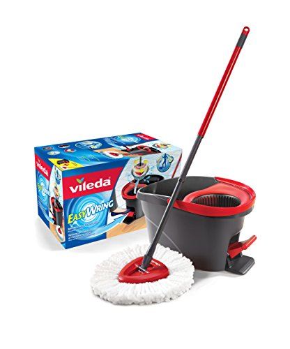 Amazon Lightning Deal 85% claimed: Vileda EasyWring Spin Mop & Bucket System