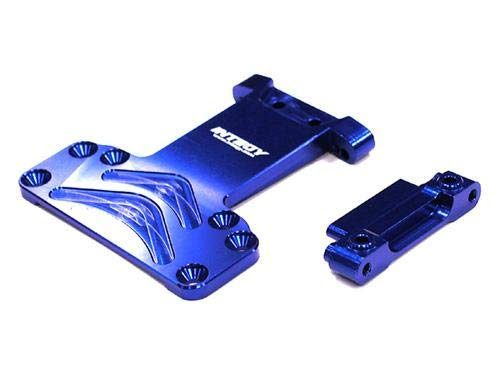 Integy RC Model Hop-ups T7842BLUE Alloy Chassis Plate for Associated SC10 2WD (Chassis Plate Losi Team)