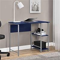 Mainstays Garrett Metal Student Desk - Blue