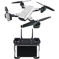 Aerial Camera - Siomentdi Folding UAV Gesture Camera Video Stream Dual Camera Quadcopter