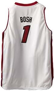 NBA Miami Heat Chris Bosh Youth 8-20 Swingman Home Jersey, Small, White