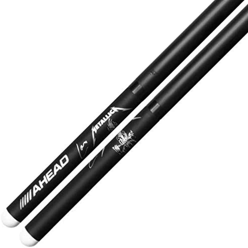 """Signature Drumsticks AHEAD LU-SGL /""""Lars Ulrich Scary Guy/"""" Limited ed"""
