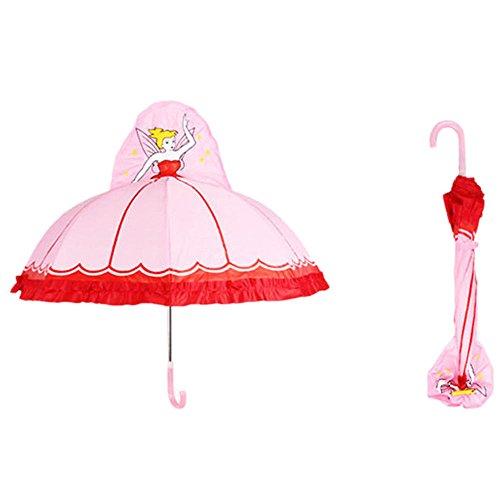 Child 3D Creative Umbrellas Cute Ultra Light Long-handle Umbrella For -