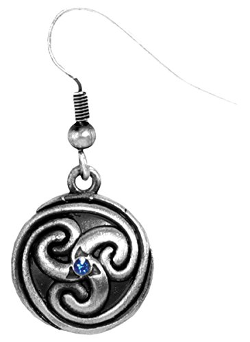 Celtic Spiral Earrings - Collectible Dangle Jewelry Accessory Jewel ()